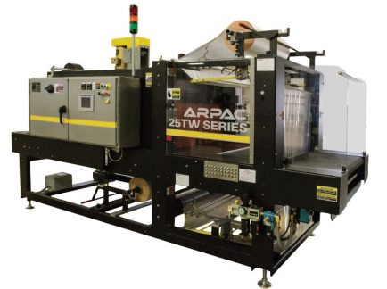 ARPAC 25TW-28, Tray Wrapper Shrink Packaging System
