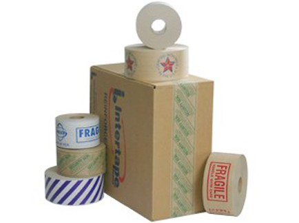 Tape – Water-Activated Carton Sealing